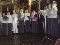 Рождественское выступление хора старшей группы воскресной школы