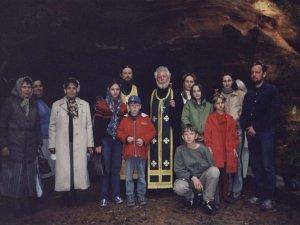 Богородичные пещеры  п. Трутнево