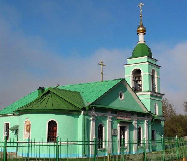 Храм св. прав. Иоанна Кронштадтского в с. Карамышево