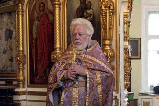 Юбилей настоятеля храма протоиерея Владимира Попова
